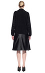 Pleat Front Leather Skirt by ALEXANDER WANG for Preorder on Moda Operandi