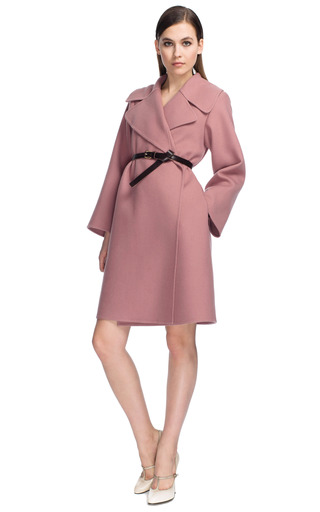 Medium marc jacobs pink rose cashmere wrap coat