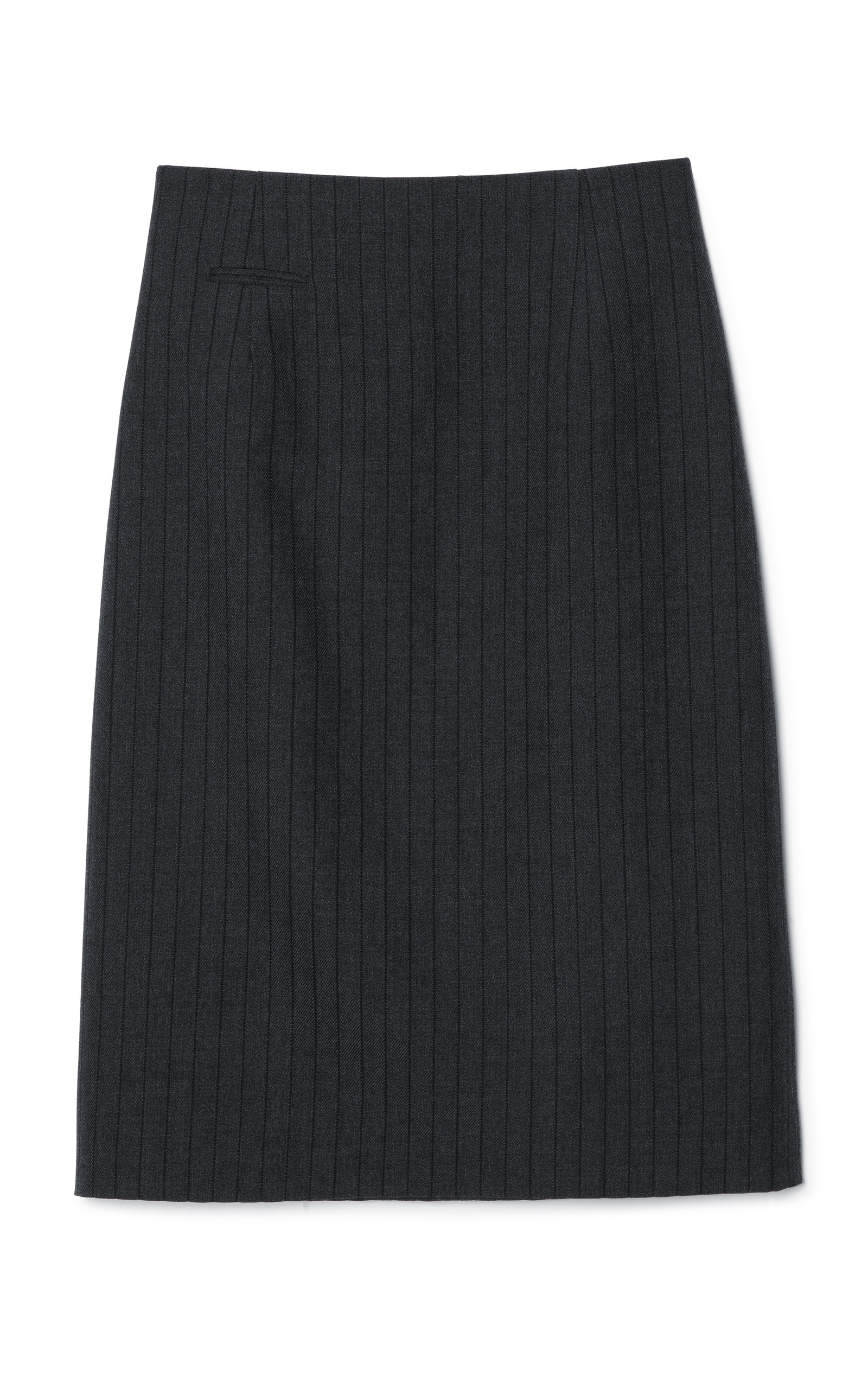 b75829fcb Black Pinstripe Highwaisted Pencil Skirt by Marc Jacobs | Moda Operandi