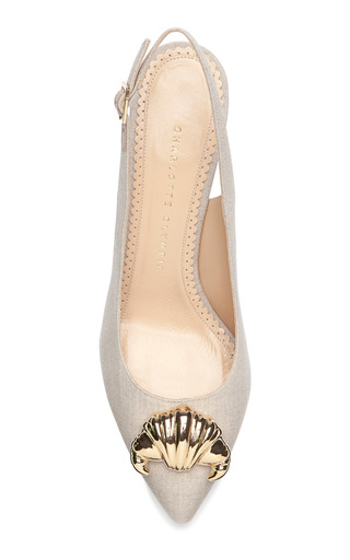 Desi Croissant by CHARLOTTE OLYMPIA Now Available on Moda Operandi