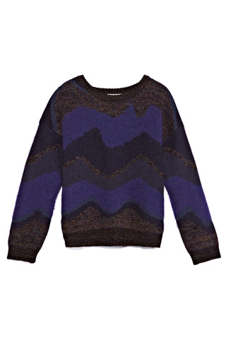 Medium opening ceremony multi goddess jacquard crew neck