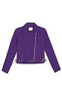 Carver Satin Moto Jacket by OPENING CEREMONY for Preorder on Moda Operandi
