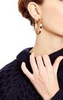 Cabochon Stone Hoop Earrings by SYLVIA TOLEDANO Now Available on Moda Operandi