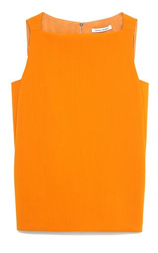 Medium narciso rodriguez orange tangerine viscose suiting top