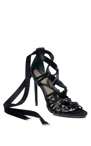 Medium jason wu black gia strappy sandal
