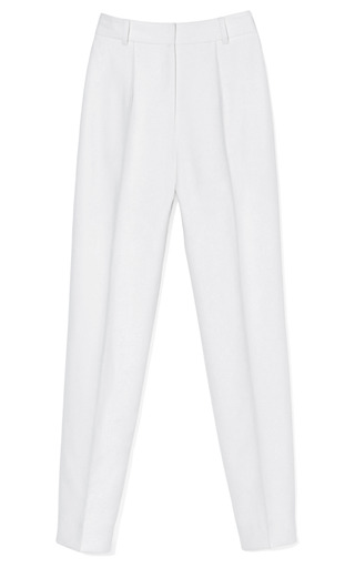 Medium jason wu off white hi waisted stovepipe pant 2