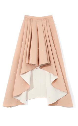 Medium rodarte nude nude 3d foam beaded skirt