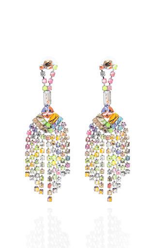 Medium tom binns multi a riot of colour tassel earrings 2