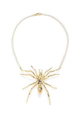 Medium tom binns gold nophobia necklace