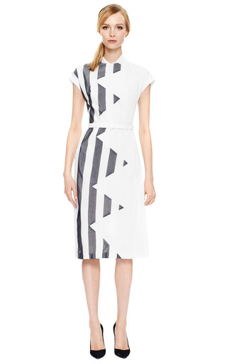 Large Striped Voile Dress by L'WREN SCOTT Now Available on Moda Operandi