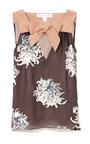 Dahlia Devore Blouse by CAROLINA HERRERA for Preorder on Moda Operandi
