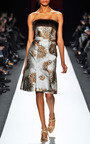 Flower Urchan Jacquard Dress by CAROLINA HERRERA for Preorder on Moda Operandi