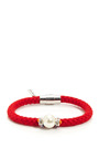 Glass Bead & Rhinestone Rope Bracelet by VANITIES Now Available on Moda Operandi