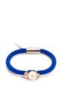Glass Bead & Rhinestone Rope Bracelet by VANITIES Now Available on Moda Operandi