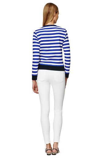 Lan Sweater With Stripes by GOLDEN GOOSE Now Available on Moda Operandi