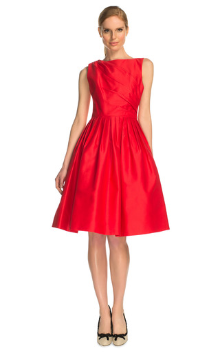 Azalea Woven Dress by ANDREW GN Now Available on Moda Operandi