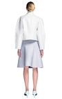 Ostrich Asymmetric Jacket by PROENZA SCHOULER for Preorder on Moda Operandi