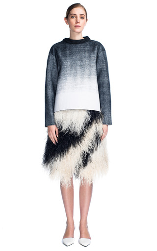 Embroidery Feathers Full Skirt by PROENZA SCHOULER for Preorder on Moda Operandi