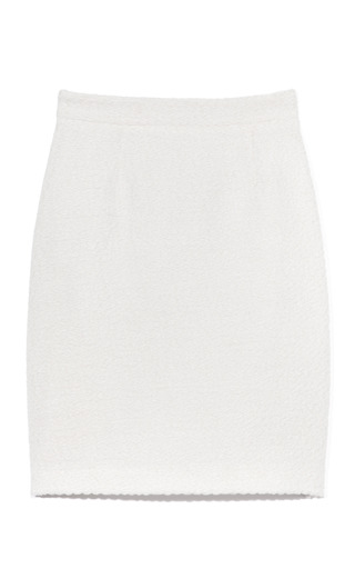 Tulle Tweed Pencil Skirt by PROENZA SCHOULER for Preorder on Moda Operandi