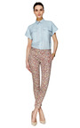 Liberty Printed Slim Pant by THAKOON ADDITION Now Available on Moda Operandi