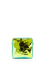 Green Glossy Bag by ZILLA Now Available on Moda Operandi