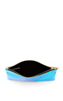 Green Small Glossy Purse by ZILLA Now Available on Moda Operandi