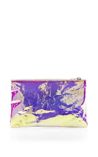 Pink Small Glossy Purse by ZILLA Now Available on Moda Operandi