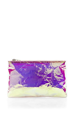 Medium zilla pink pink small glossy purse