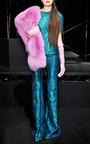 Filigree Brocade Flare Pant by WES GORDON for Preorder on Moda Operandi