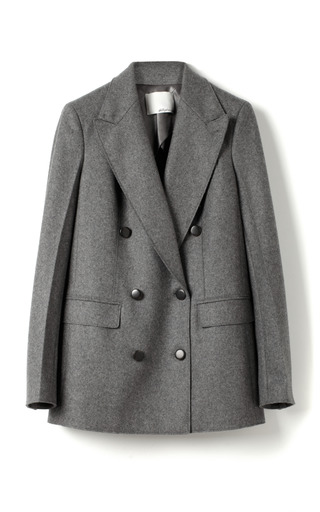 Felted Coating Double Breasted Blazer by 3.1 PHILLIP LIM for Preorder on Moda Operandi