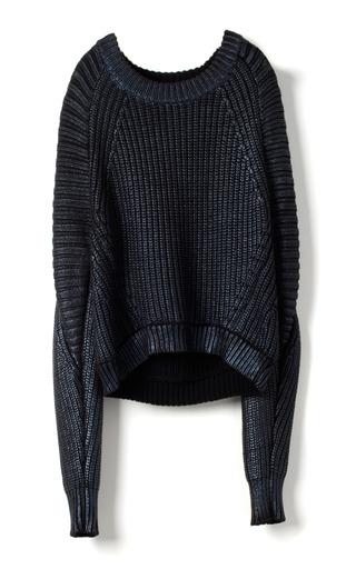 Medium 3 1 phillip lim black metallic printed sweater pullover 2