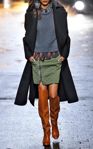 Merino Marten Blend Cropped Roll Neck Pullover  by 3.1 PHILLIP LIM for Preorder on Moda Operandi