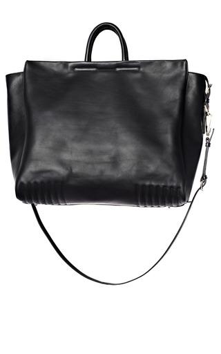Medium 3 1 phillip lim black leather medium ryder hold all
