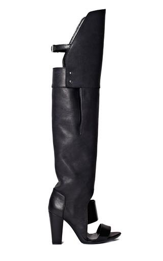 Medium 3 1 phillip lim black black ora over the knee boot sandal