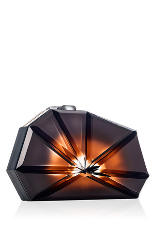Black Explosion Constantinople Clutch by RAUWOLF for Preorder on Moda Operandi