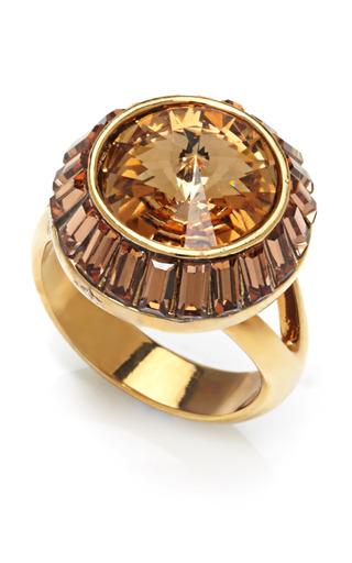 Medium house of lavande gold zelda cocktail ring