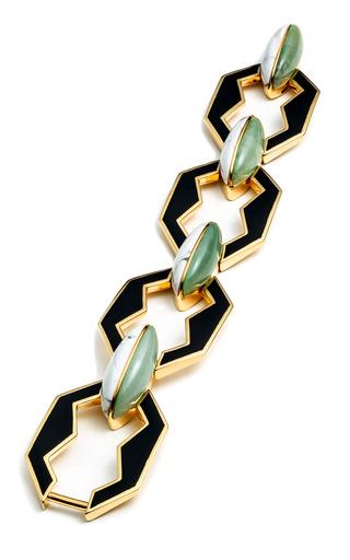 Medium eddie borgo peaked link bracelet