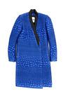 Reptile Lurex Jacquard Coat by KENZO for Preorder on Moda Operandi