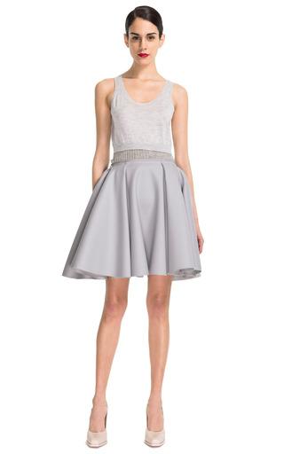 Medium nina ricci blue wool skirt 7