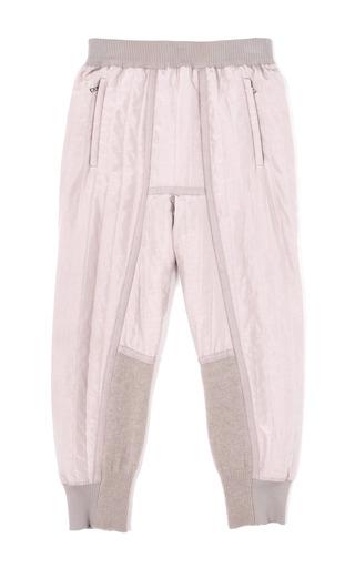 Medium nina ricci pink quilted parachute silk pants