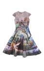 Fauwi Babelonia Dress by MARY KATRANTZOU for Preorder on Moda Operandi