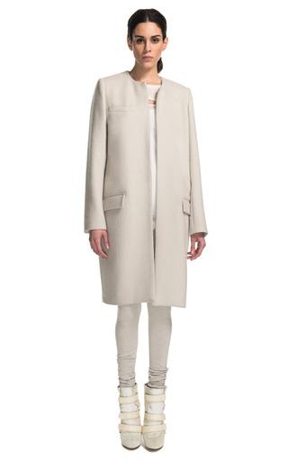 Easy Coat In Ecru by ISABEL MARANT for Preorder on Moda Operandi