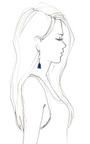 Fringe Drop Earring by ISABEL MARANT for Preorder on Moda Operandi