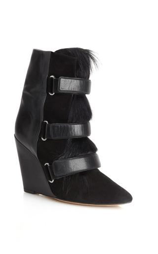 Medium isabel marant black black pierce boot