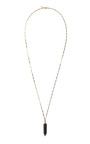Black Prism Necklace by ISABEL MARANT for Preorder on Moda Operandi
