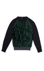 Anthracite Maille Mousseuse Sweater by CéDRIC CHARLIER for Preorder on Moda Operandi