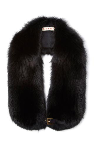Medium marni black marmotta stole 2