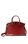 Cocco Millenium Crocodile & Leather Tote Bag by VBH Now Available on Moda Operandi