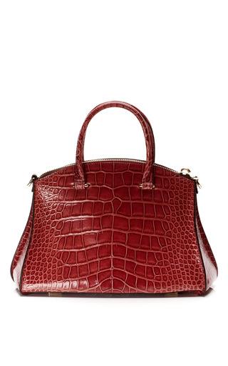 Medium vbh red cocco millenium crocodile leather tote bag