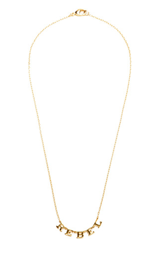 Rebel Necklace by TOM BINNS Now Available on Moda Operandi
